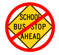 No School Bus Stop