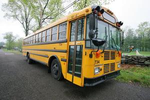 school bus idling