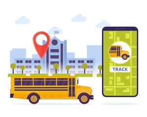GPS school bus tracking