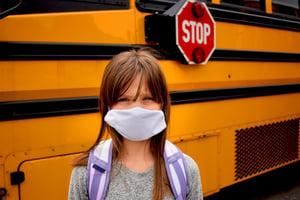 social distancing on a school bus