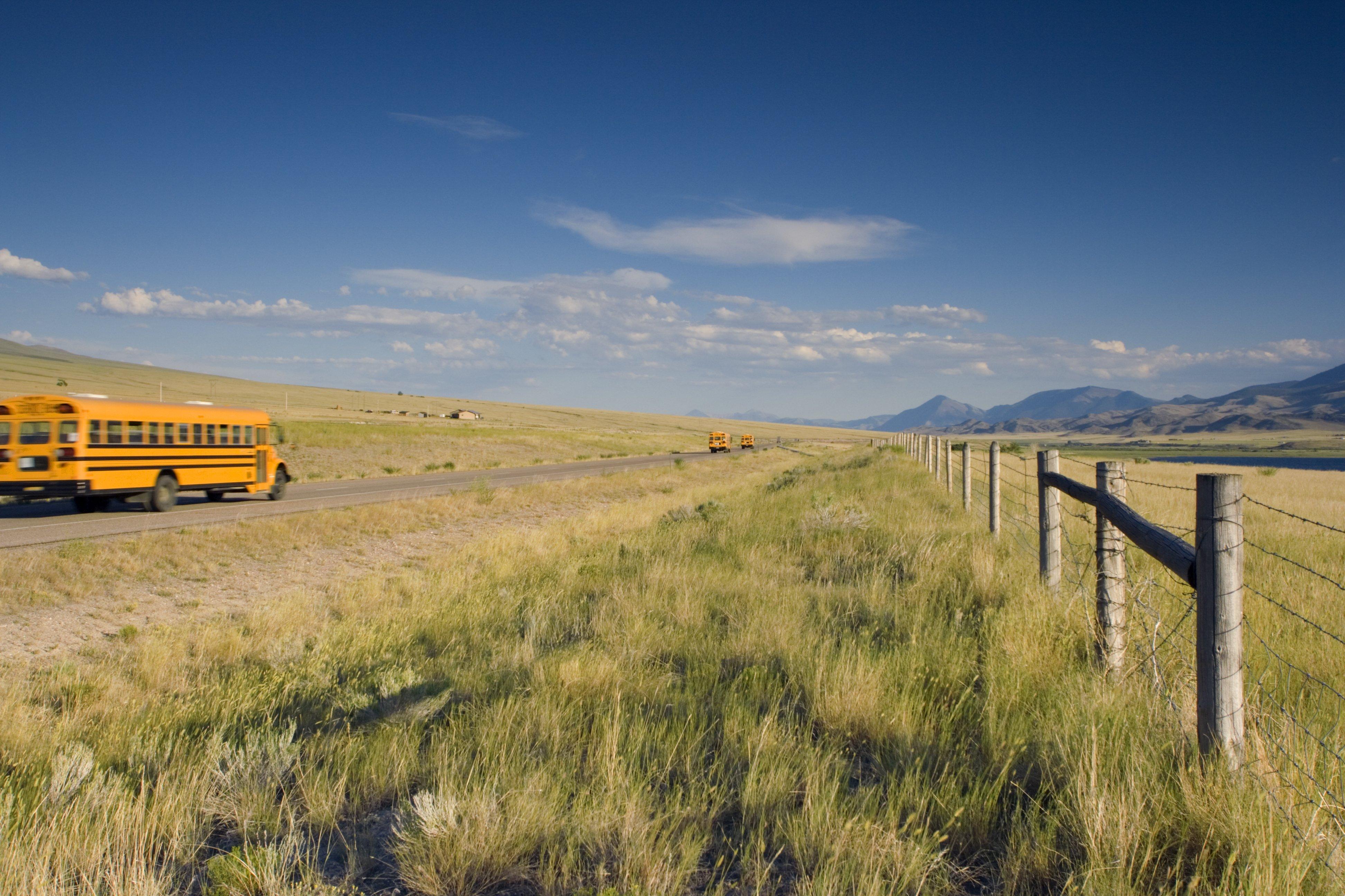 school bus fuel